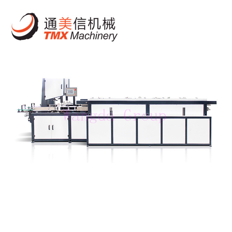 Full auto facial tissue band saw cutter