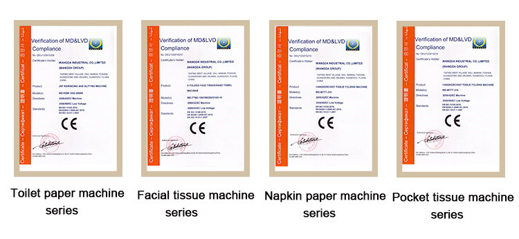 CE Certifications of Facial Tissue Log Saw Cutter