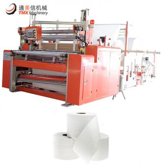 Fully Automatic High Speed Toilet Paper Rewinding Machine